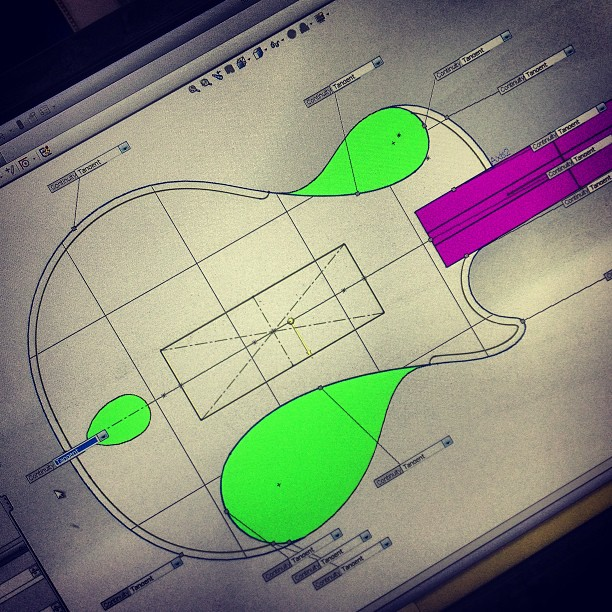 Guitar #herodesign