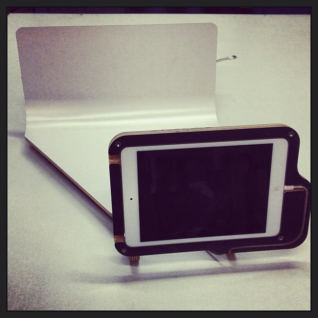 iPad mini stop motion studio prototype #herodesign
