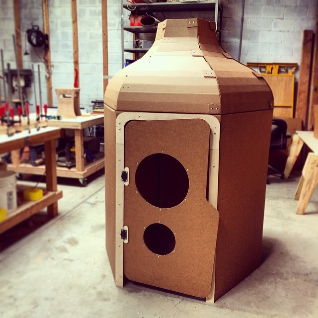 Cardboard Playhouse #herodesign