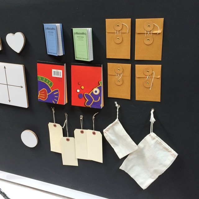Some other fun magnetic pads, notebooks, envelops and tags #herodesign